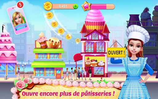 Code Triche Mon empire pâtissier – Prépare & sers des gâteaux (Astuce) APK MOD screenshots 5