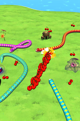 Snake-io Arena - Slither Ultimate Rivals screenshots 9