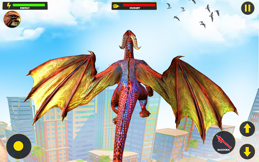 Flying Dragon City Attack 1.0.16 screenshots 3