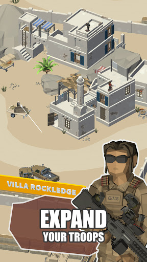 Idle Warzone 3d: Military Game - Army Tycoon screenshots 7
