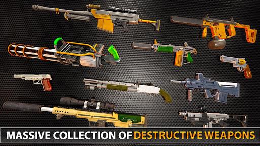 Police Counter Terrorist Shooting - FPS Strike War 6 screenshots 11
