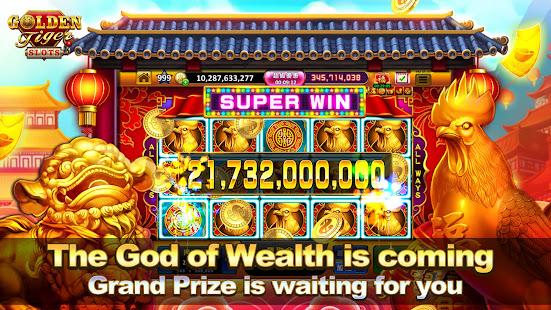 Slots Online Golden Tiger