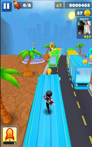 Subway Ninja Run:Surfer in the road 2.0 screenshots 5