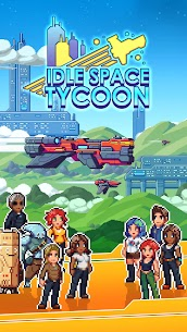 Idle Space Tycoon MOD APK 1.5.3 (Unlimited Credits) 8