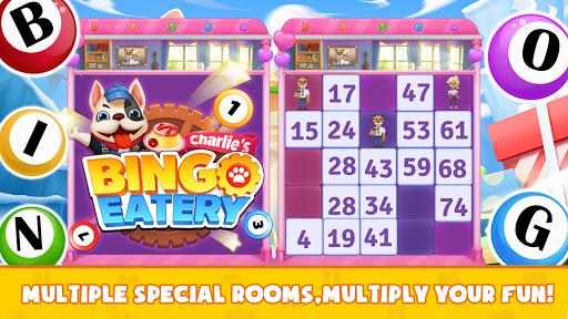 bingo eatery - free bingo & restaurant game screenshot 3