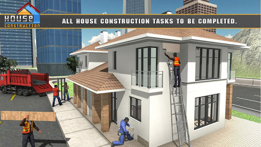 House Building Construction Games - House Design apkpoly screenshots 6