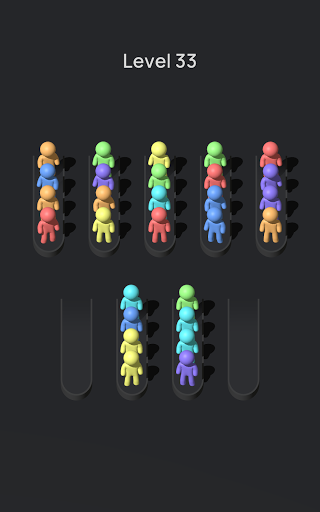 Crowd Sort - Color Sort & Fill  screenshots 12