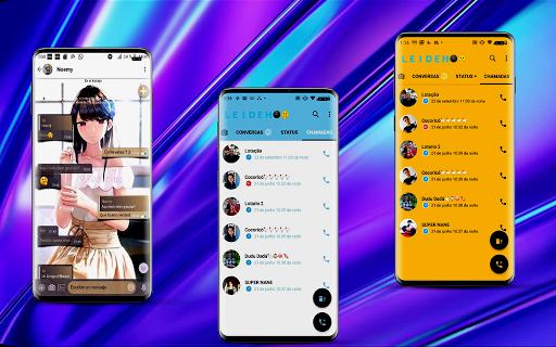 WA MOD Tema Biru - GB Version 1.7 Screenshots 2