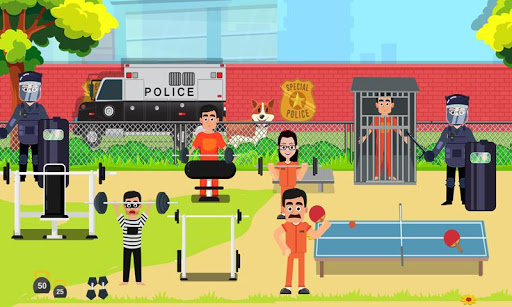 Pretend Play My Police Officer: Stop Prison Escape 1.0.3 screenshots 4