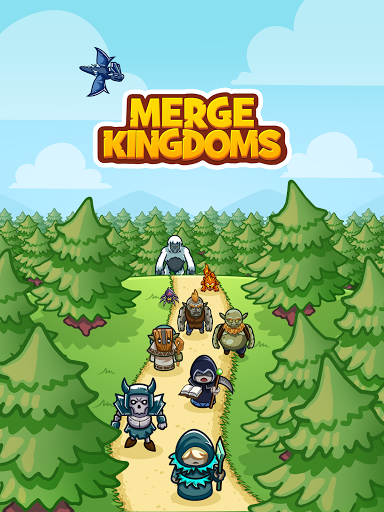 Merge Kingdoms - Tower Defense apkslow screenshots 13