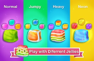 Jelly in Jar 3D - Tap & Jump Survival game