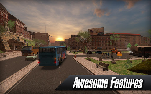 Coach Bus Simulator APK MOD (Astuce) screenshots 5