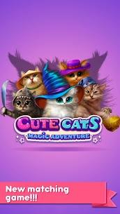 Cute Cats: Magic Adventure MOD Apk 1.2.7 (Unlocked) 1