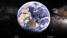 Earth & Moon in HD Gyro 3D Parallax Live Wallpaperのおすすめ画像4