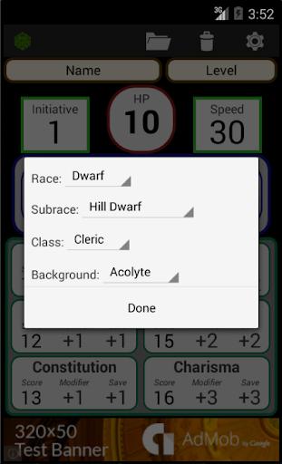 Fifth Edition Character Sheet apktram screenshots 7