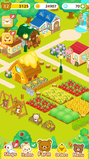 Rilakkuma Farm 3.7.0 screenshots 10