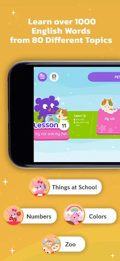 Learn English for Kids by Galaxy Kids screenshots 2