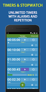 Multi Timer and Stopwatch Free 4.5 Mod + APK + Data UPDATED 1