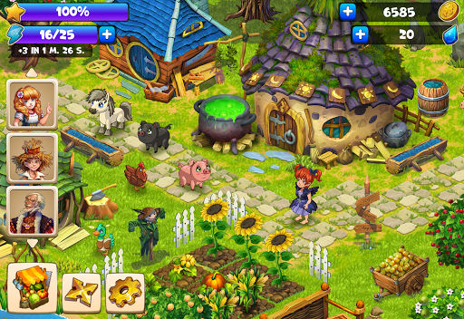 Farmdale: farming games & township with villagers 5.0.9 screenshots 20