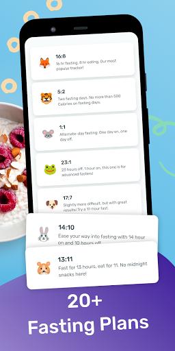 YAZIO Calorie Counter & Intermittent Fasting App 7.1.5 Screenshots 5