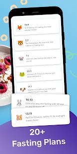 YAZIO Calorie Counter & Intermittent Fasting App Screenshot