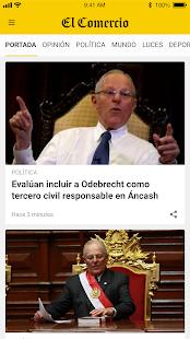 El Comercio Peru00fa 9.7 Screenshots 1