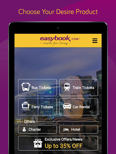 Easybook - Bus, Train, Ferry, Flight & Car Rental  Screenshots 11