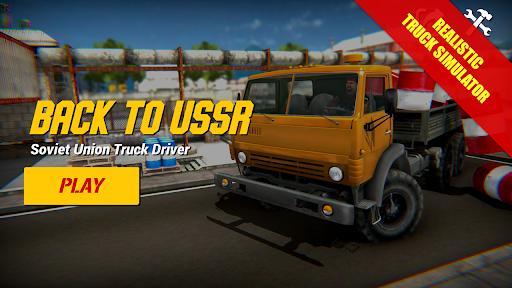 Back to USSR Truck Driver apktreat screenshots 1