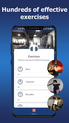 Gym workouts - Training programs.  screenshots 3