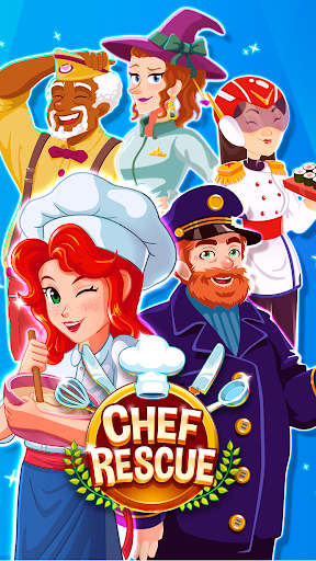 Chef Rescue - Cooking & Restaurant Management Game 2.12.2 Paidproapk.com 1