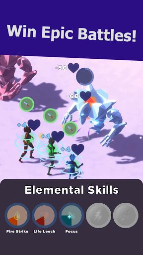 Swarm of Destiny: Fantasy World AfK Idle RPG Mix apklade screenshots 2