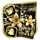 Golden Diamond Flower Theme para PC Windows
