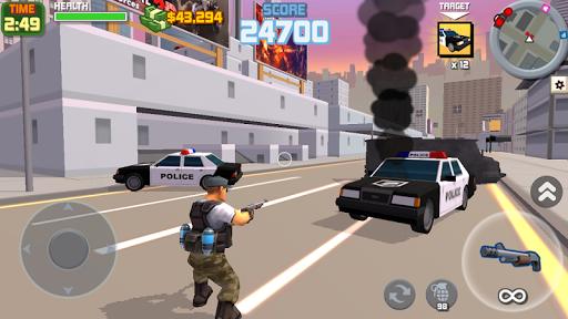 Gangster City: OpenWorld Crime Shooting Game- FPS  screenshots 1