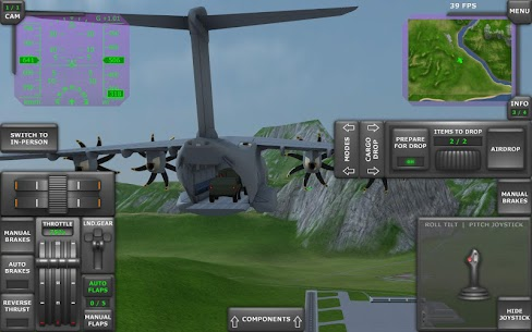 Turboprop Flight Simulator 3D (MOD, Unlimited Money) 10