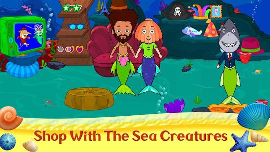 My Tizi Town - Underwater Mermaid Games for Kids 1.0 Screenshots 4
