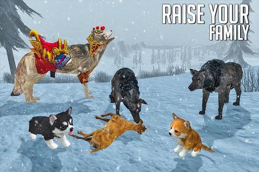 Télécharger simulateur de loup: jeu de jungle sauvage mod apk screenshots 5