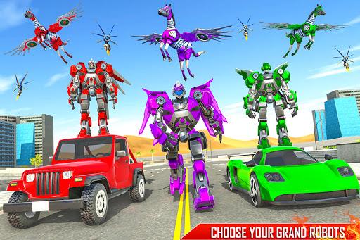 Horse Robot Games - Transform Robot Car Game 1.2.3 screenshots 22