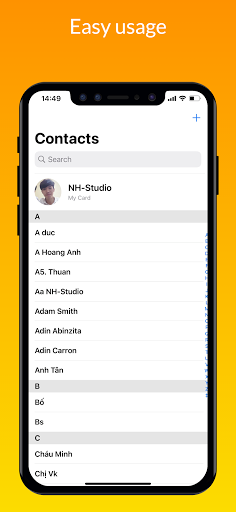 iContacts – iOS Contact  screenshots 1
