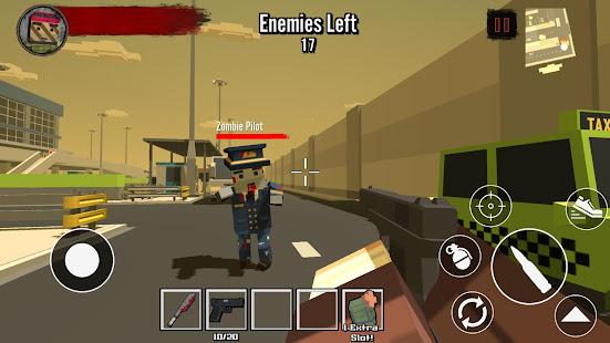 Blocky Zombie Survival 2 1.74 screenshots 1