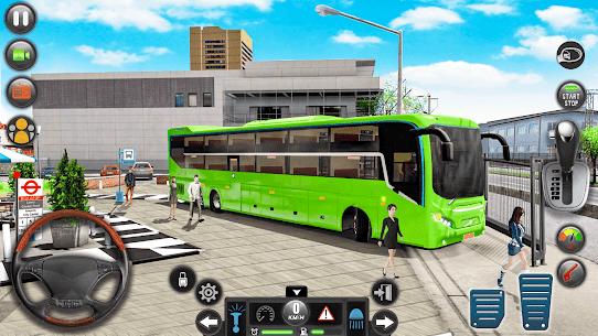 Modern Bus Simulator Drive 3D: New Bus Games Free 1