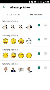 Cute Penguin Stickers for WhatsApp, WAStickerApps Screenshot