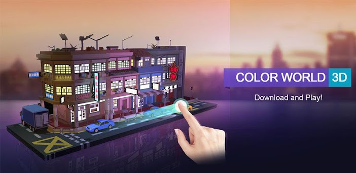 Farbwelt 3D — Malen nach Zahlen