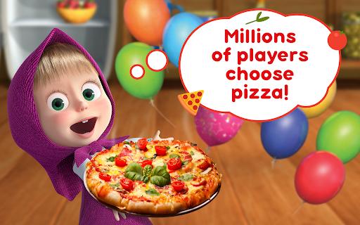 Masha and the Bear Pizzeria Game! Pizza Maker Game  screenshots 17