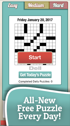 Penny Dell Crosswords 3.84 screenshots 1