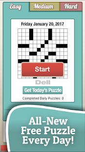 Penny Dell Crosswords Screenshot