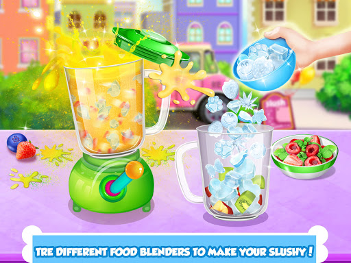 icy food maker - frozen slushy screenshot 2