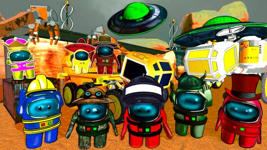 Mars Neighbor Escape. Among Red Planet 1.1 screenshots 1