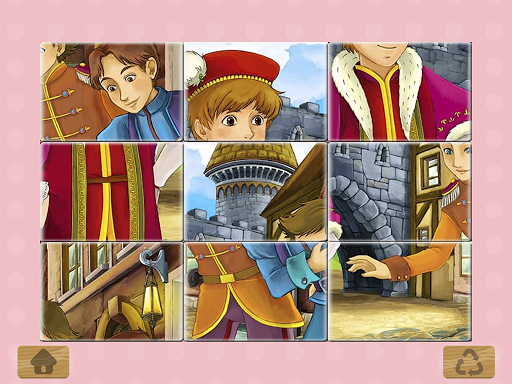 Princess Puzzles and Painting apkpoly screenshots 5