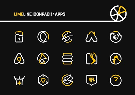LimeLine Icon Pack Pro Apk: LineX 2.8 (Patched) 6
