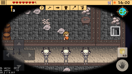 Survival RPG 2 - Temple ruins adventure retro 2d android2mod screenshots 8
